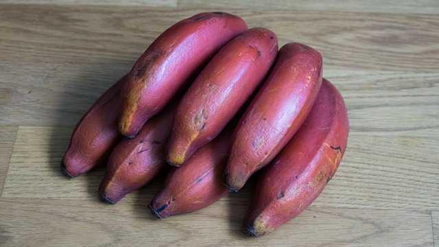 Banana roja