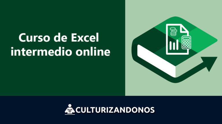 Curso de excel intermedio online