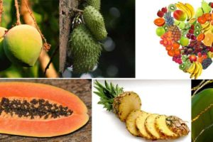 frutas tropicales nombres e imágenes