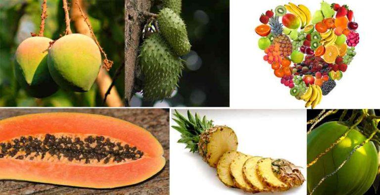 mejores frutas tropicales para la salud