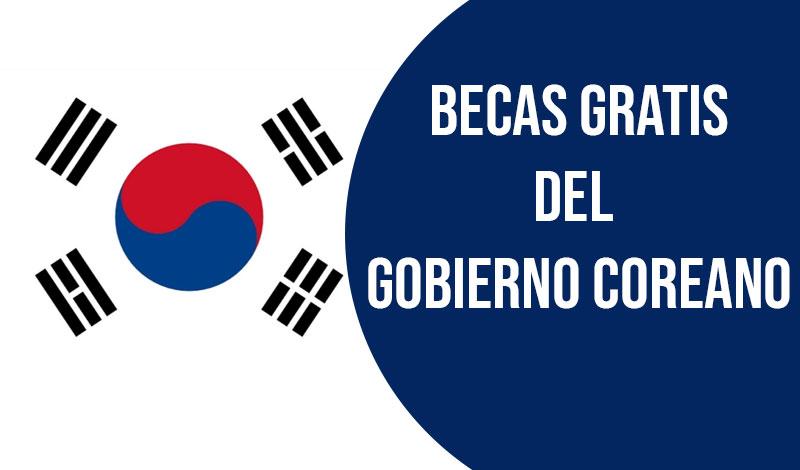becas del gobierno coreano