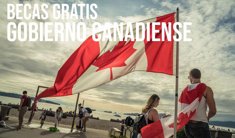 becas gratis Gobierno Canadiense