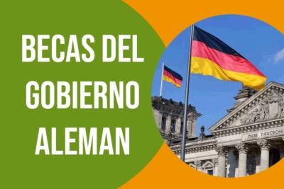 becas gratis del gobierno aleman