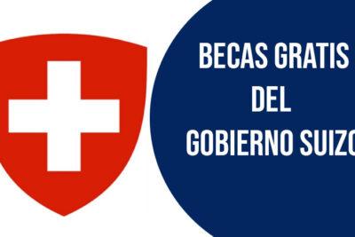 becas gratis del gobierno suizo