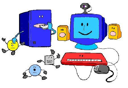 computadora y sus partes para alumnos de primaria