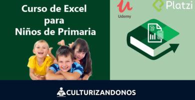 curso excel para niños de primaria online