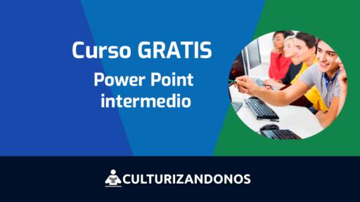 curso intermedio gratis de power point