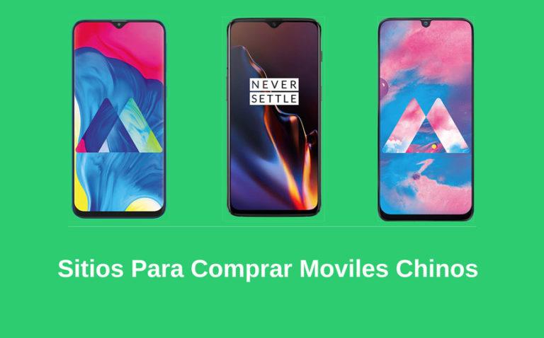 paginas para comprar celulares chinos