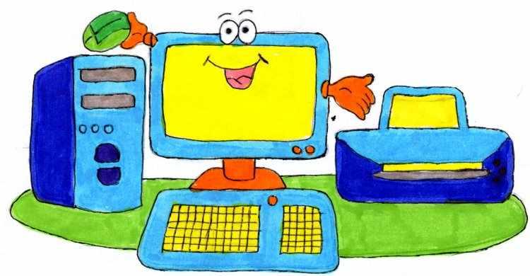 partes del computador para ninos de primaria