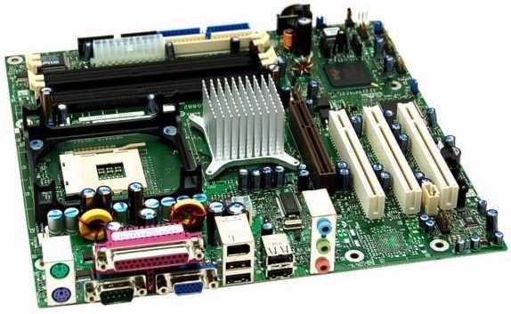 placa base de una computadora parte principal y fundamental