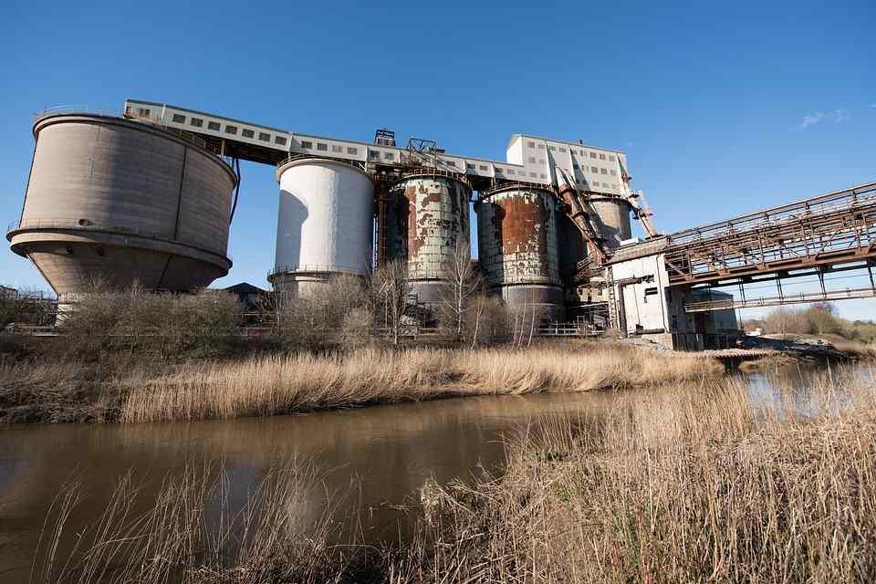 tipos de plantas industriales